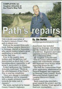 news - path repairs