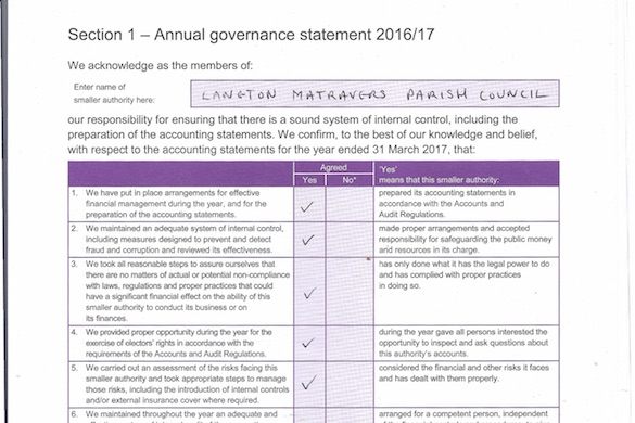 Annual Governance Statement